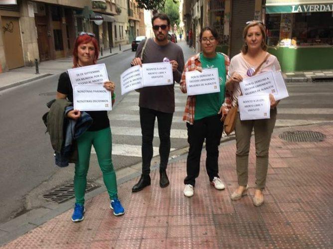 La Red Feminista de Albacete exige que se proteja la intimidad de las mujeres que abortan