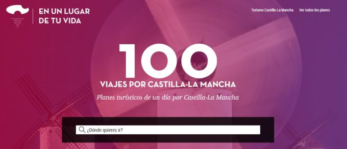 Cien recorridos para descubrir Castilla-La Mancha