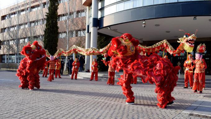 La celebración del Año Nuevo chino llega al Campus de Albacete