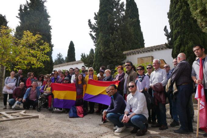 Unidas Podemos rinde homenaje a los albaceteños fusilados por la dictadura franquista