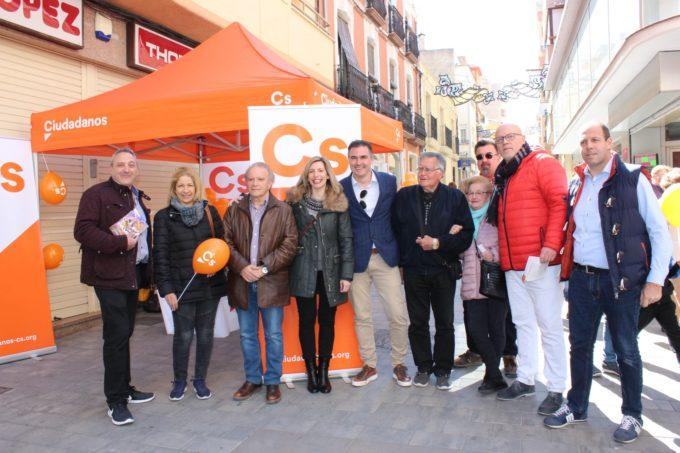 """María Dolores Arteaga (Cs) cree que Almansa es """"clave"""" para el desarrollo de la provincia"""