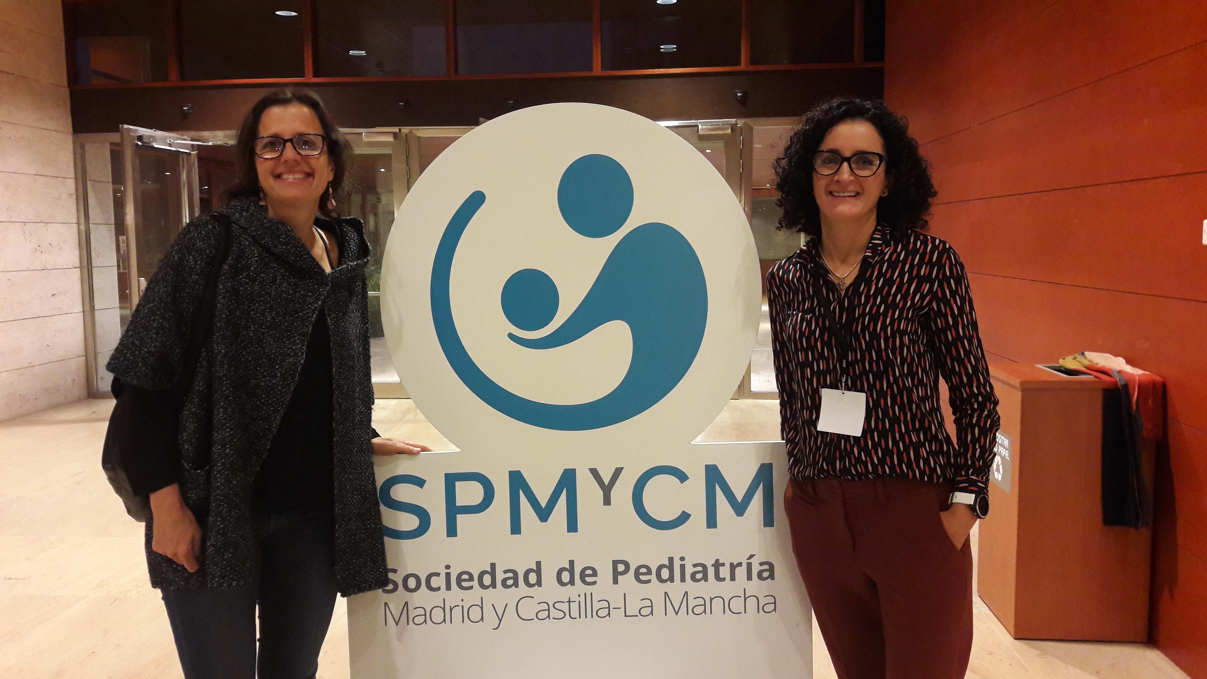 Sylvia Belda y Beatriz Huidobro