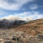 Se declara un incendio en el vertedero de Albacete