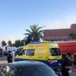 Controlado el incendio del Hospital de Hellín
