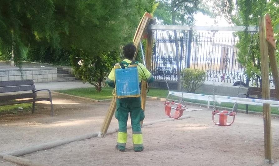 limpieza zona infantil