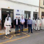 El dispositivo de GEACAM contra el coronavirus concluye la desinfección de 12 centros ocupacionales en la provincia