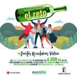 """Albacete forma parte del reto solidario 'Juntos reciclamos vidrio"""" para promover la recuperación de envases de este material"""