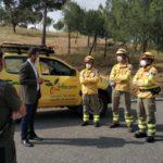 ¿Cómo se protegerán de la pandemia los que también luchan contra el fuego en Castilla-La Mancha?