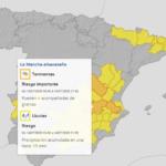 La Mancha albaceteña y las Sierras de Alcaraz y del Segura en riesgo por tormentas y granizo