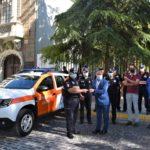 Albacete entrega un nuevo vehículo a la Agrupación Local de Voluntarios de Protección Civil
