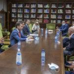 Altos cargos estatales visitan el nuevo edificio judicial de Albacete