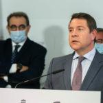 """Page anuncia en Albacete una """"ley anti sorpresas"""" para la reserva estratégica de material sanitario en la región"""