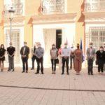 Concentración de repulsa en Albacete por el asesinato machista de Corral-Rubio