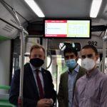 Los autobuses urbanos de Albacete tendrán wifi e información en tiempo real