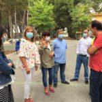 Tres cuadrillas del Plan de Empleo realizan obras de mejora del Cementerio municipal