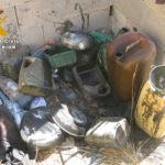 La Guardia Civil de Albacete localiza un taller clandestino en Hellín