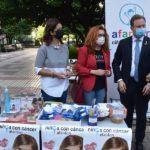 Afanion sale a la calle para concienciar a los albaceteños sobre la situación de los niños con cáncer