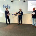 Feda entrega a UCLM, Cáritas, Cruz Roja y Banco de Alimentos los 14.000 euros recaudados en su crowdfunding