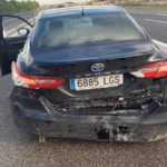 El presidente del PP regional, Paco Núñez, sale ileso tras sufrir un accidente de tráfico en La Gineta