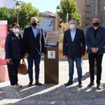 Munera inaugura un punto de información turística de la Ruta Cervantina