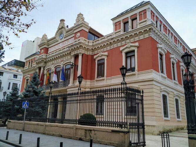 Fachada Diputación Albacete