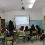 Alumnos de Elche de La Sierra comparten experiencias con compañeros de Europa