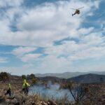 Unas 3.000 hectáreas, afectadas tras los incendios forestales de este fin de semana