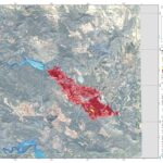 Los daños medioambientales del incendio de Liétor desde el Observatorio Terrestre Europeo