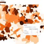 MAPA | La incidencia de la COVID-19 se multiplica: Barrax pasa de 0 a 445 casos por cada 100 mil habitantes