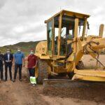La Diputación de Albacete mejora casi 15 kilómetros de caminos rurales en Ontur