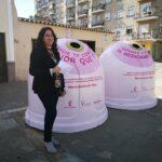 El Ayuntamiento de Villarrobledo se une a la campaña solidaria ´Recicla vidrio por ellas´
